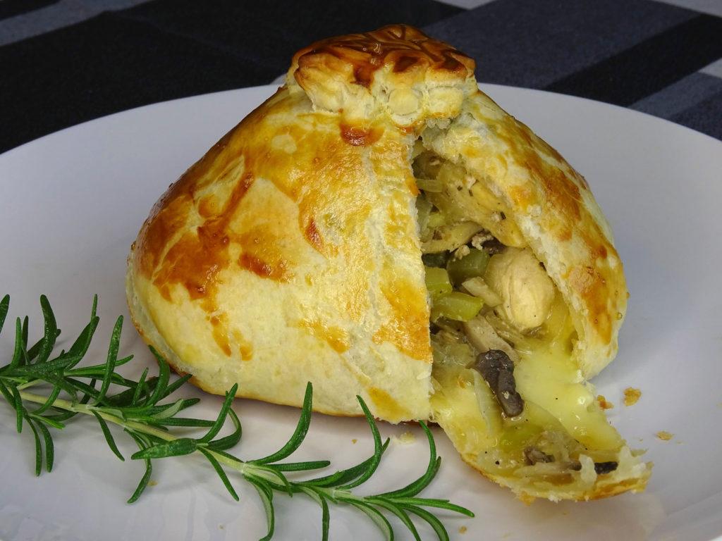 recepta Pastis pollastre camembert serraplà