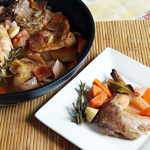 recepta conill escabetxat
